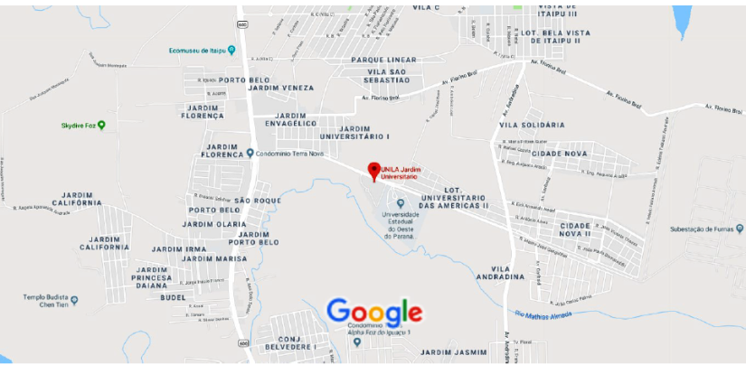 Mapa JU